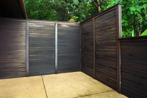 Installation de clôture terrasse